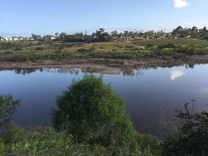 April 14 2017 Lake Calavera photo 2 water level